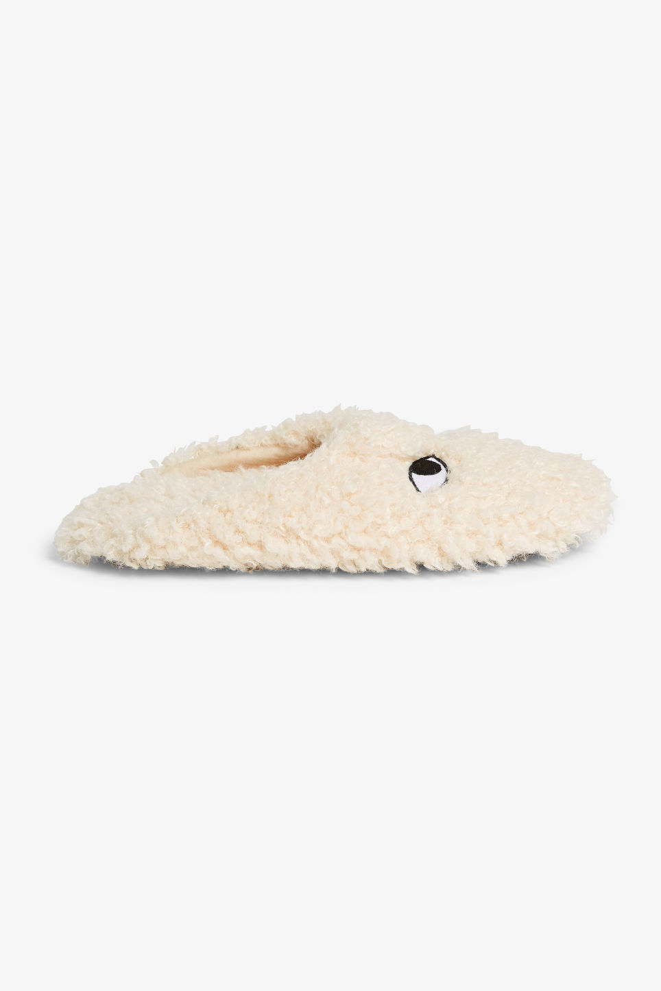 Detailed image of Monki monki slippers in white