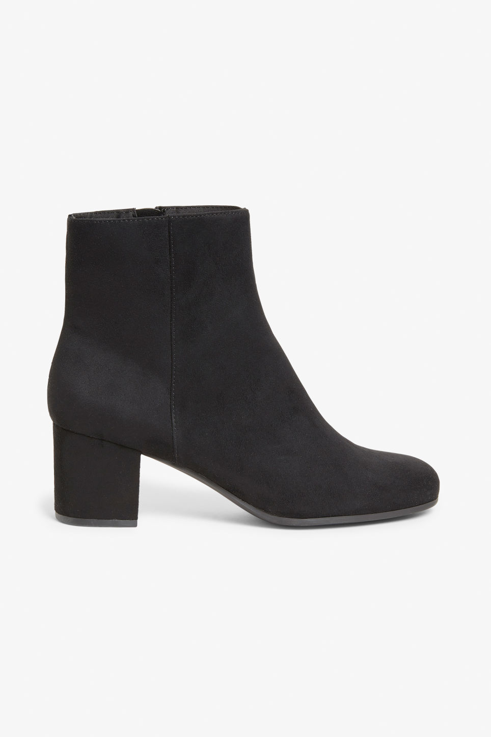 Detailed image of Monki classic ankle boots in black