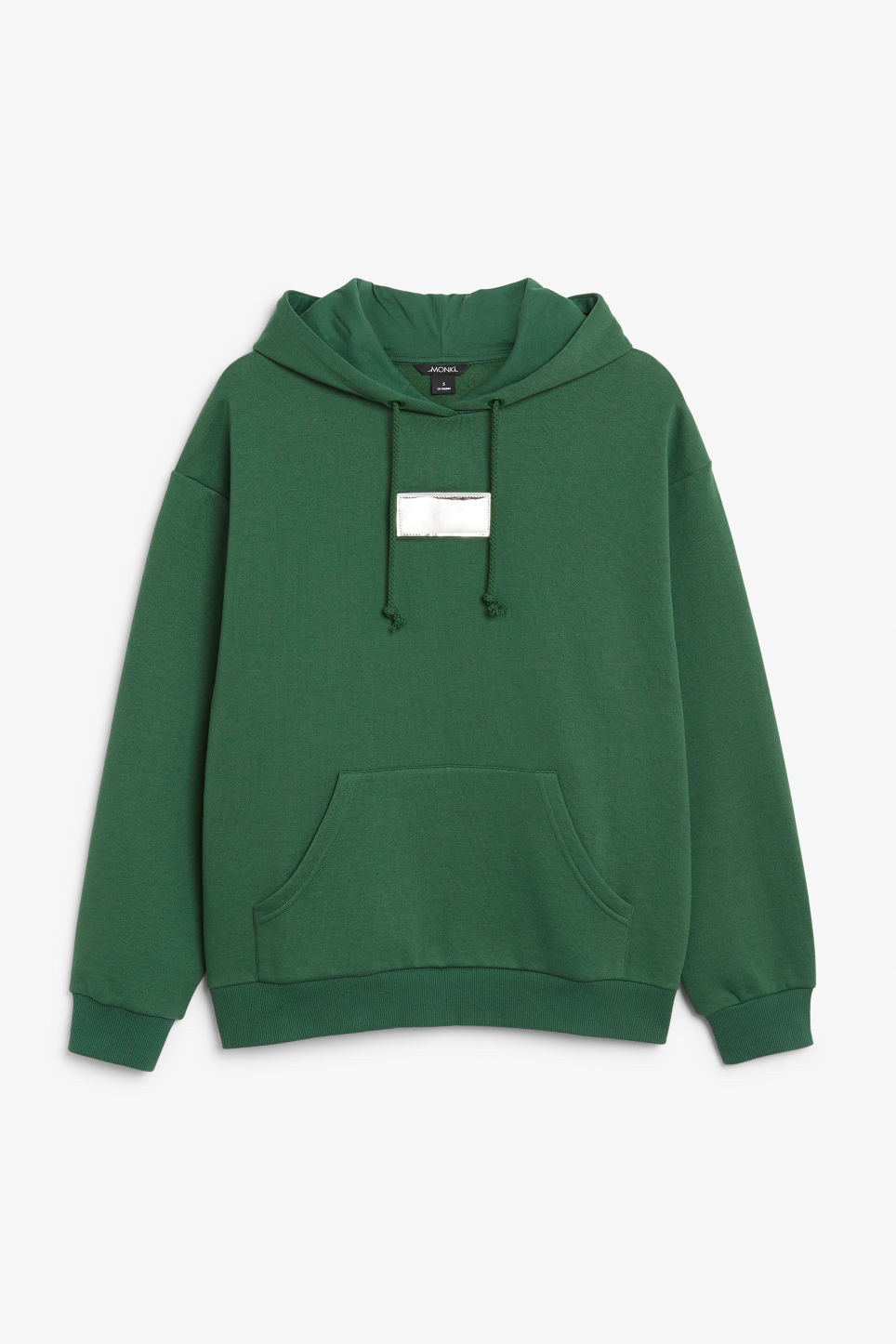 Detailed image of Monki swap-it hoodie in green