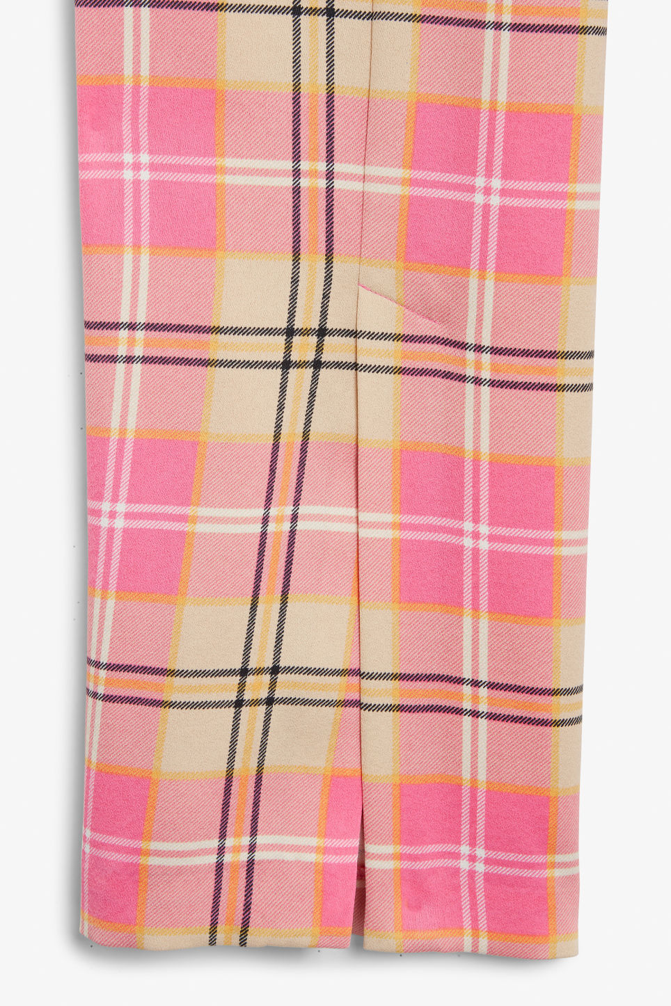 Detailed image of Monki dressy trousers in pink