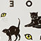 Fabric Swatch image of Monki temporary tattoos in black