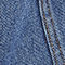 Fabric Swatch image of Monki long denim skirt in blue
