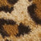 Fabric Swatch image of Monki faux fur leopard collar in beige