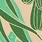 Fabric Swatch image of Monki monki travel tag in green