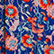 Fabric Swatch image of Monki pleated midi skirt in blue