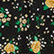 Fabric Swatch image of Monki oversized button-up blouse in black