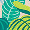 Fabric Swatch image of Monki sporty bikini top in green