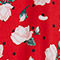Fabric Swatch image of Monki oversized shirt dress in red