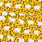 Fabric Swatch image of Monki classic button-up shirt  in yellow