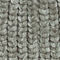 Fabric Swatch image of Monki knitted beanie in grey