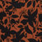 Fabric Swatch image of Monki long wrap dress in orange