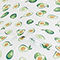 Fabric Swatch image of Monki monki umbrella in green