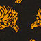 Fabric Swatch image of Monki fine knit cotton top in black