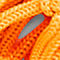 Fabric Swatch image of Monki net beach bag in orange