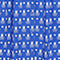 Fabric Swatch image of Monki flowy buttoned dress in blue