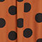 Fabric Swatch image of Monki long hidden button dress in black