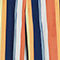 Fabric Swatch image of Monki super wide leg trousers in blue