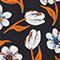 Fabric Swatch image of Monki jersey dress in black
