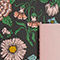 Fabric Swatch image of Monki notebook set in black