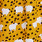Fabric Swatch image of Monki pearl effect button skirt in yellow