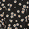 Fabric Swatch image of Monki peter pan collar dress in black