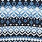 Fabric Swatch image of Monki nordic ski knit in blue