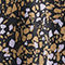 Fabric Swatch image of Monki satin midi skirt in black