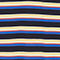 Fabric Swatch image of Monki cropped pique polo shirt in blue