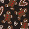 Fabric Swatch image of Monki holiday sweater in black
